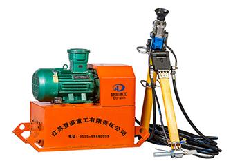 液压锚杆钻机的工作效益